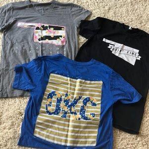 Tops - Lot bundle of Oklahoma tee shirts